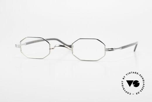Lunor Octag II-A Achteckige Vintage Brille  90er Details