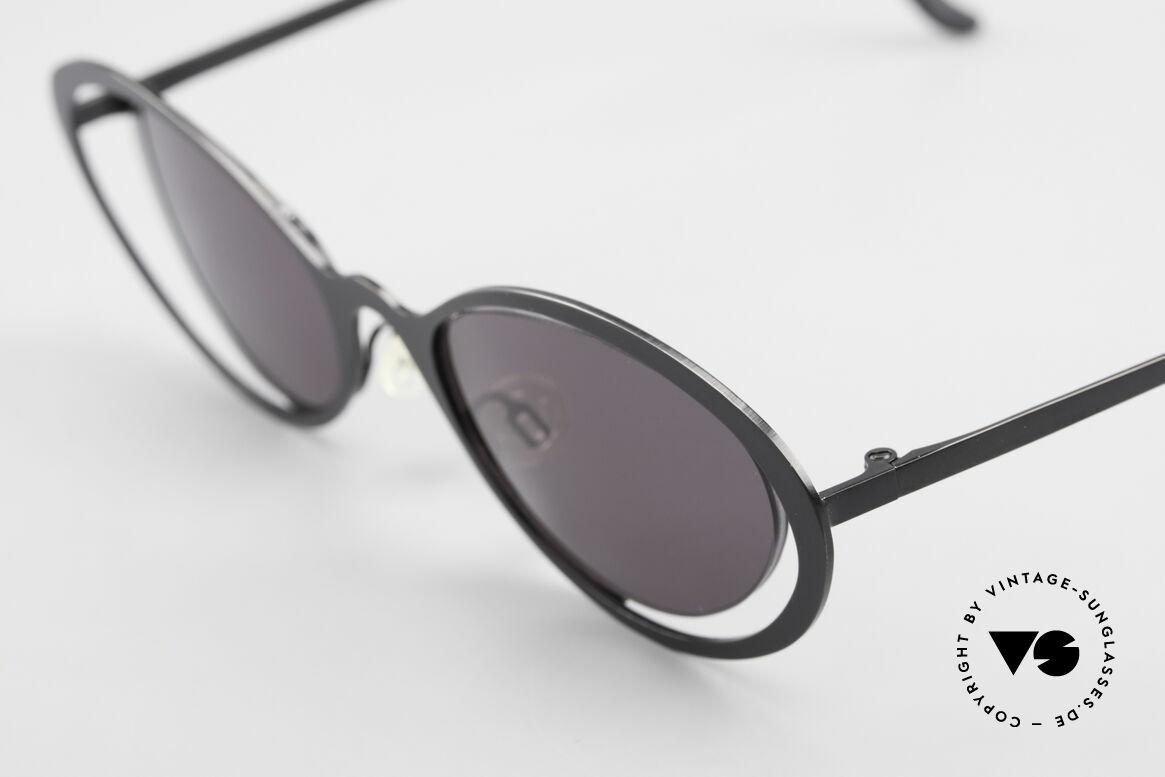 """Theo Belgium LuLu Randlose Cateye Sonnenbrille, außergewöhnliches Designerstück im """"Cat's Eye""""-Stil, Passend für Damen"""