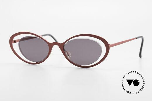 Theo Belgium LuLu Designer Cateye Sonnenbrille Details
