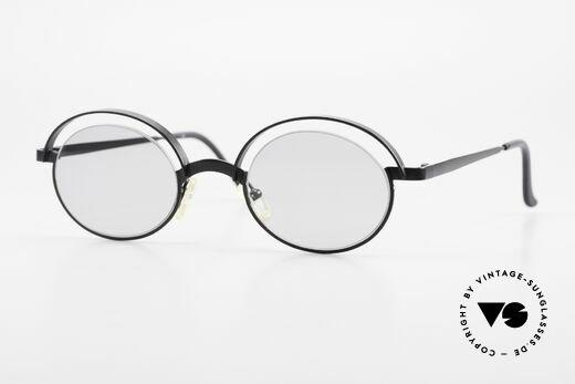Theo Belgium Lady Verrückte 90er Sonnenbrille Details