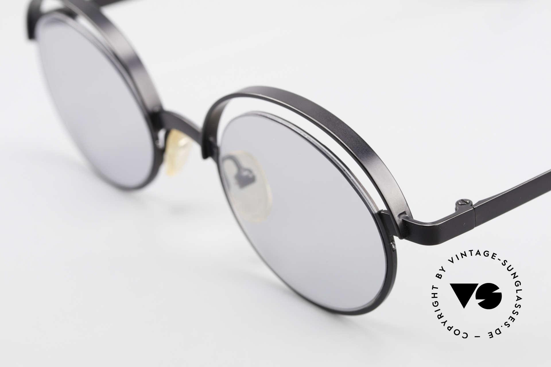 """Theo Belgium Lady Verrückte 90er Sonnenbrille, außergewöhnliches Designer-Stück (""""Dozy Slim"""" ;-), Passend für Damen"""