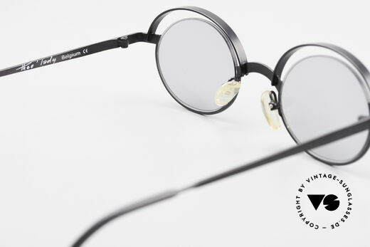Theo Belgium Lady Verrückte 90er Sonnenbrille, KEINE RETRObrille; ein ca. 20 Jahre altes ORIGINAL, Passend für Damen