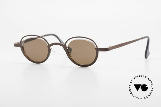 Theo Belgium Dozy Slim Crazy Designer Sonnenbrille Details