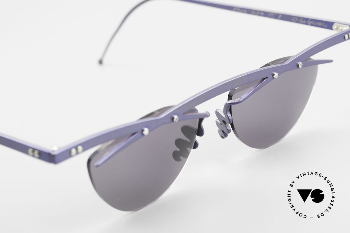 Theo Belgium Tita III 2 Crazy Vintage Sonnenbrille XL, ungetragenes Theo-Original und KEINE RETROBRILLE!, Passend für Herren und Damen