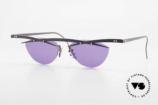 Theo Belgium Tita III 4 XL Crazy Vintage Sonnenbrille Details