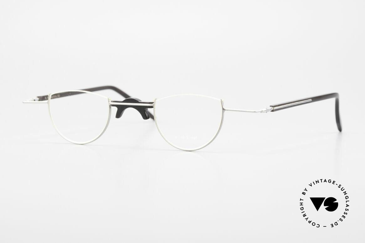 Wolfgang Katzer Fil 5 Echthorn Lesebrille Handmade, kostbare handgefertigte Brillenfassung, Wolfgang Katzer, Passend für Herren