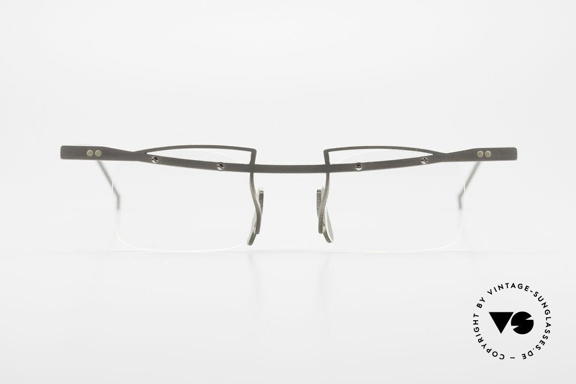 Rosenberger Franca Titan Brille Made in Bayern, vintage Modell Titanix Franca aus den 90er Jahren, Passend für Herren und Damen