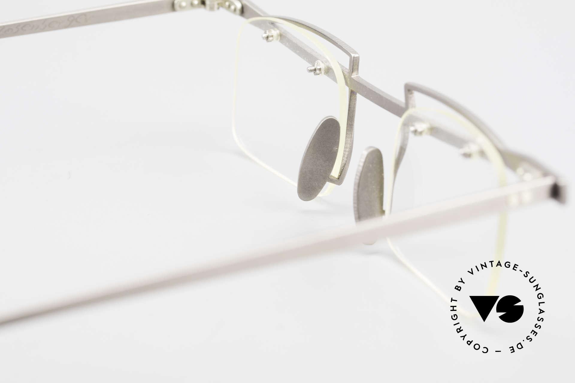 Rosenberger Franca Titan Brille Made in Bayern, Demogläser können natürlich beliebig ersetzt werden, Passend für Herren und Damen