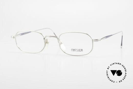 Matsuda 10108 90er Herrenbrille High End Details