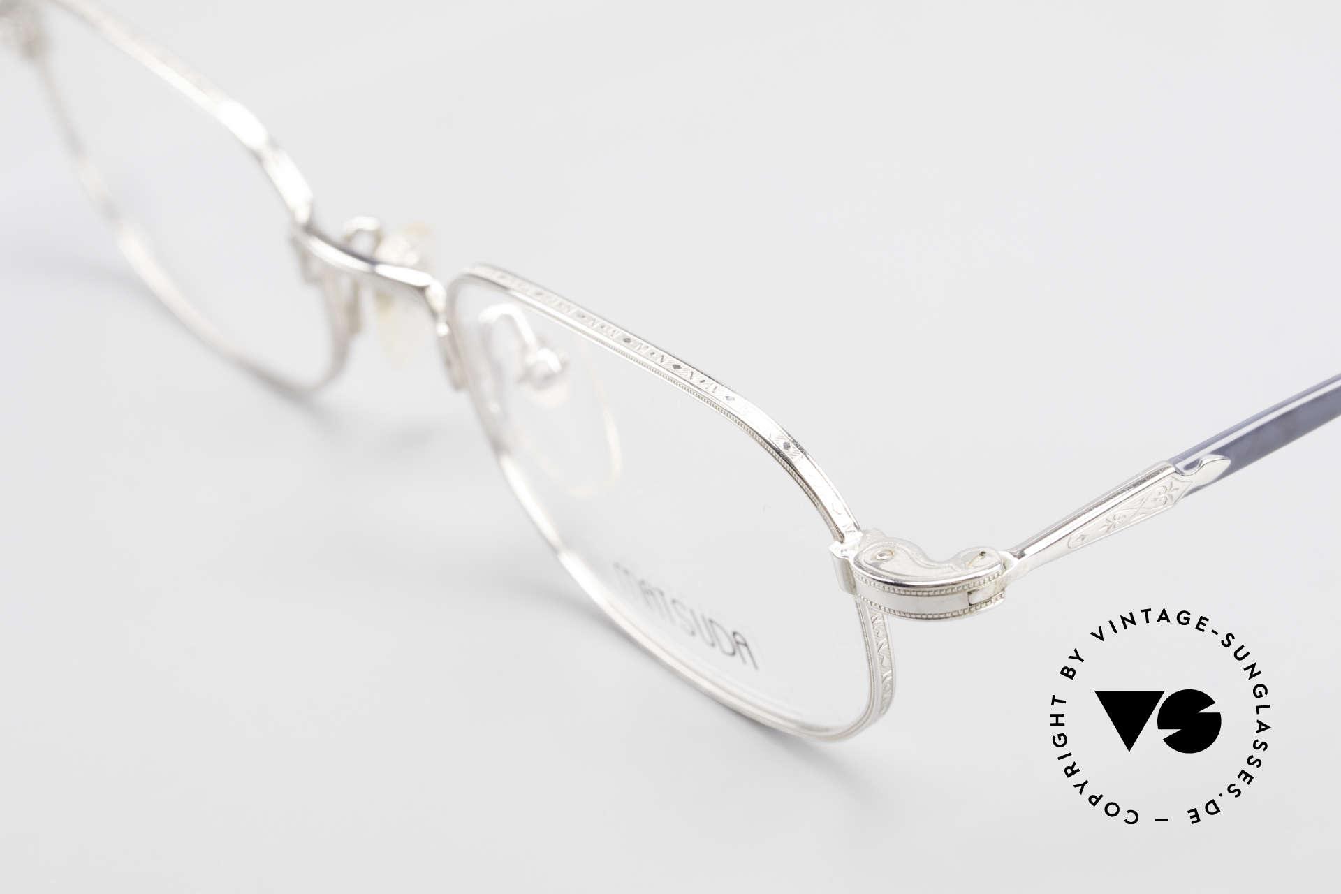 Matsuda 10108 90er Herrenbrille High End, ein Meisterstück für Qualitätsliebhaber, made in Japan, Passend für Herren