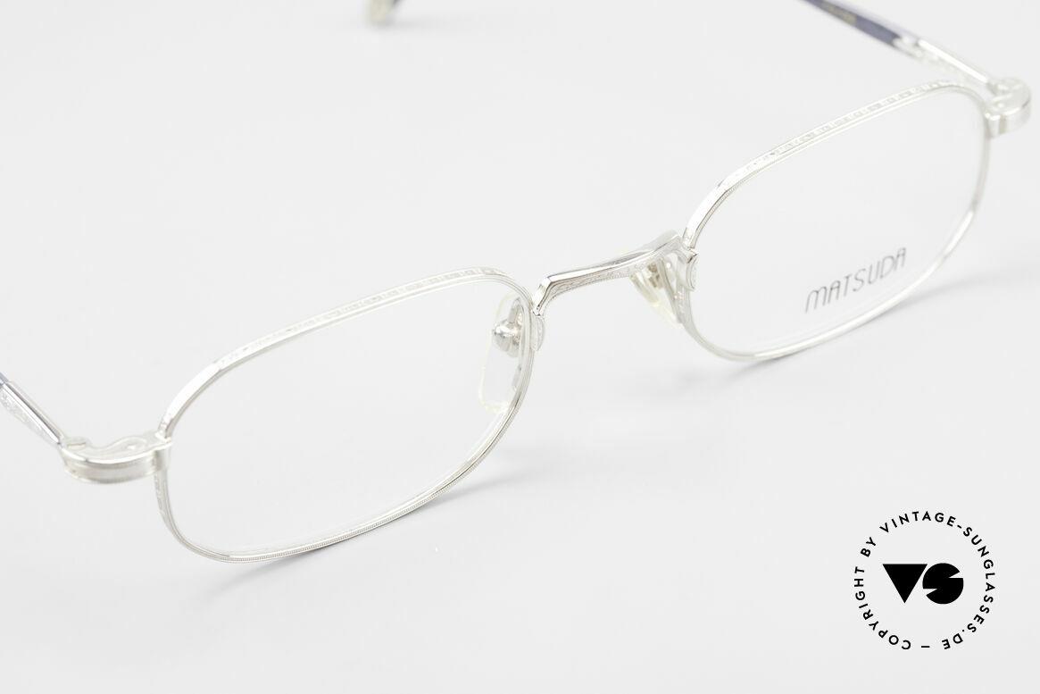 Matsuda 10108 90er Herrenbrille High End, ungetragen (wie alle unsere vintage Matsuda Fassungen), Passend für Herren