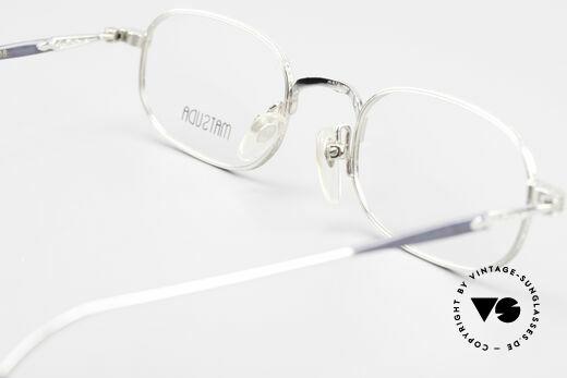 Matsuda 10108 90er Herrenbrille High End, DEMO Gläser können natürlich beliebig ersetzt werden, Passend für Herren