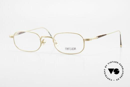 Matsuda 10108 Herrenbrille 90er High End Details