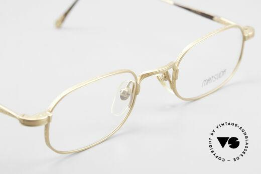 Matsuda 10108 Herrenbrille 90er High End, DEMO Gläser können natürlich beliebig ersetzt werden, Passend für Herren