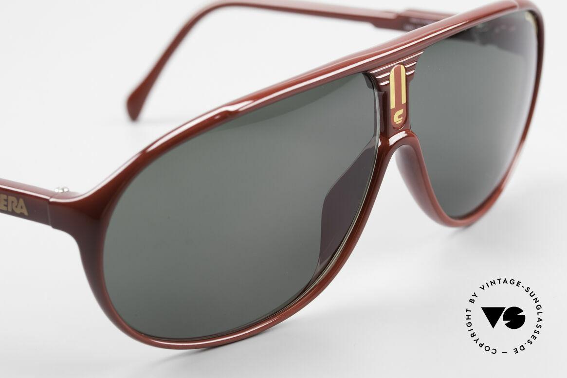 Carrera 5412 Brille 3 Paar Wechselgläser, grün und braun Ultrasight sowie braun Verlauf C-Vision, Passend für Herren und Damen