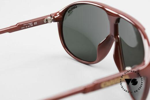 Carrera 5412 Brille 3 Paar Wechselgläser, ungetragen (wie alle unsere 80er Carrera Sonnenbrillen), Passend für Herren und Damen