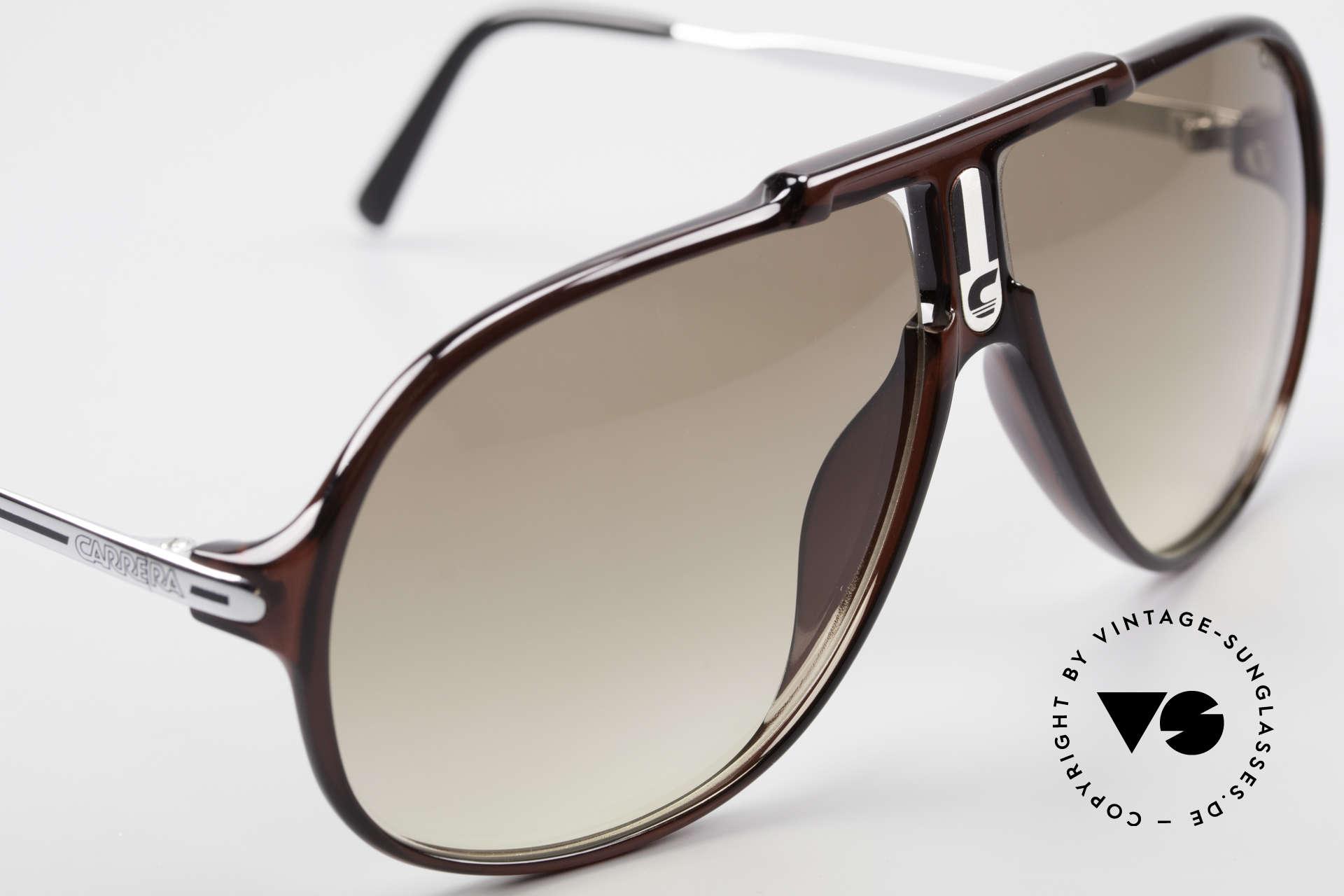 Carrera 5590 3 Sets Auswechselbare Gläser, grün Ultrasight & braun C-EXTREME sowie braun Verlauf, Passend für Herren