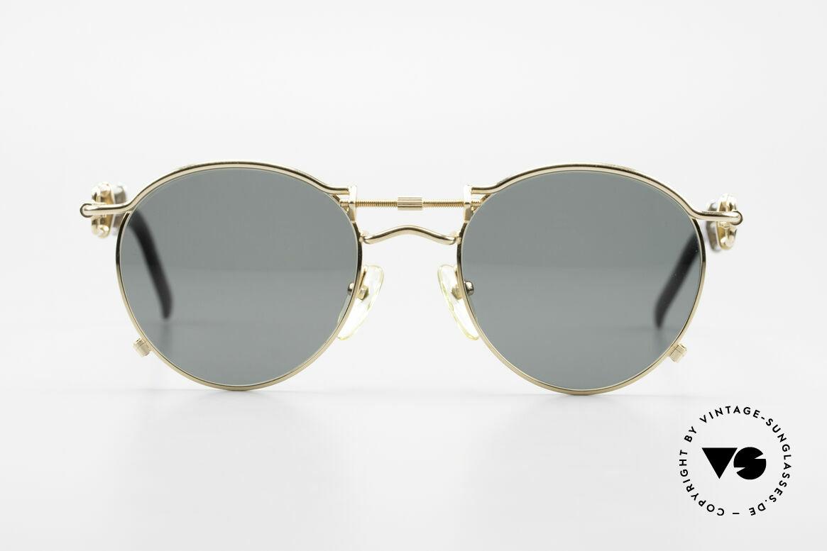 Jean Paul Gaultier 56-0174 Steampunk Sonnenbrille 2Pac, einzigartige DesignerSonnenbrille von Jean Paul Gaultier, Passend für Herren und Damen