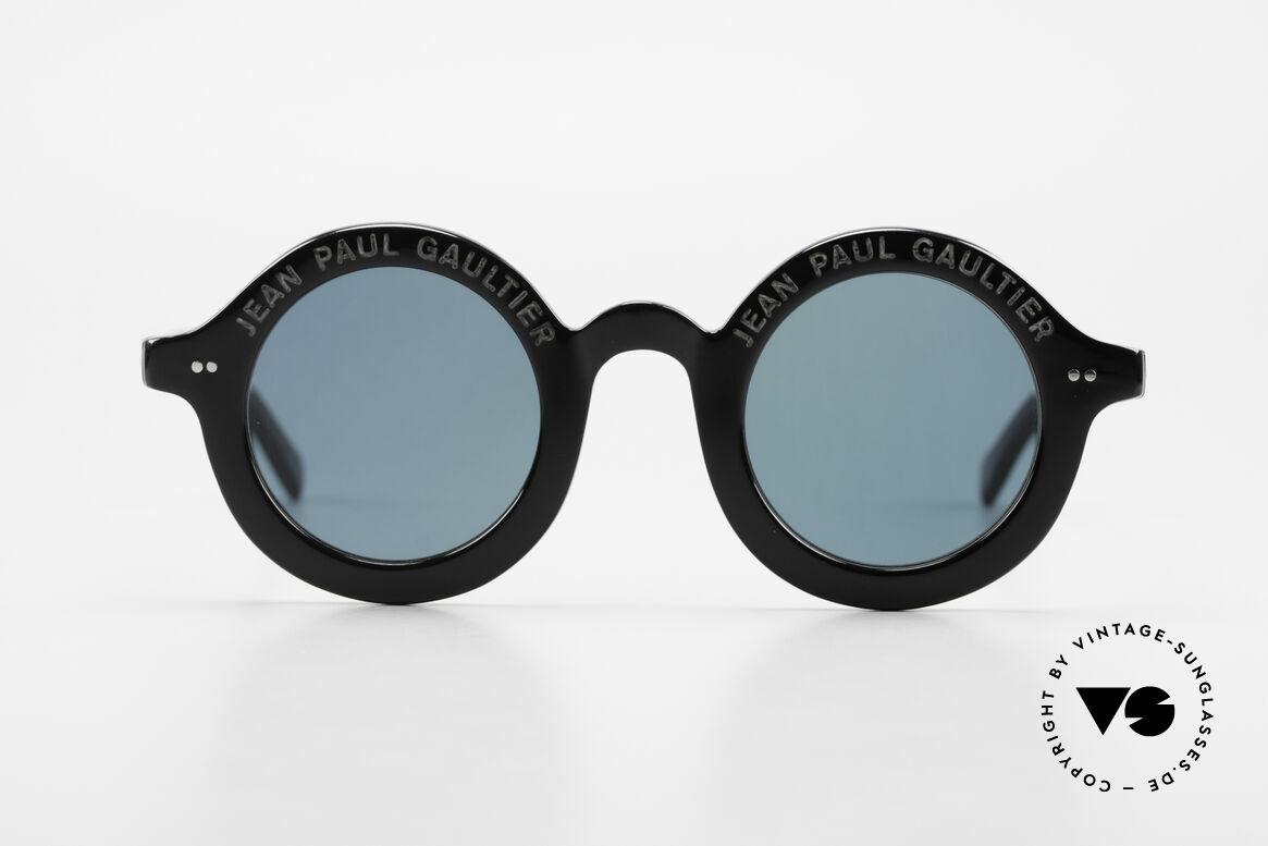 Jean Paul Gaultier 56-0001 Erste Modell der 56er JPG Serie, 56-0001: das erste Modell der 56er Sonnenbrille-Serie, Passend für Herren