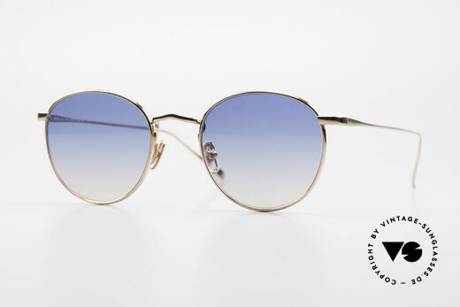 Lunor M9 Mod 01 RG Titan Sonnenbrille Rosegold Details