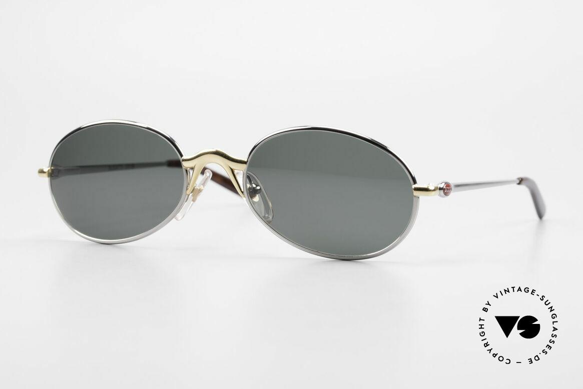 Bugatti 22126 Original 90er Sonnenbrille, sehr elegante BUGATTI vintage Sonnenbrille, Passend für Herren