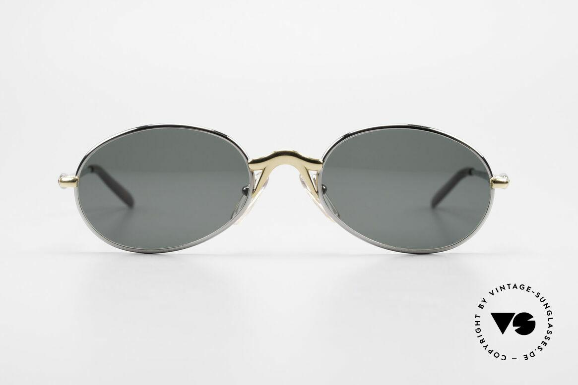 Bugatti 22126 Original 90er Sonnenbrille, circa Mitte der 1990er in Frankreich produziert, Passend für Herren