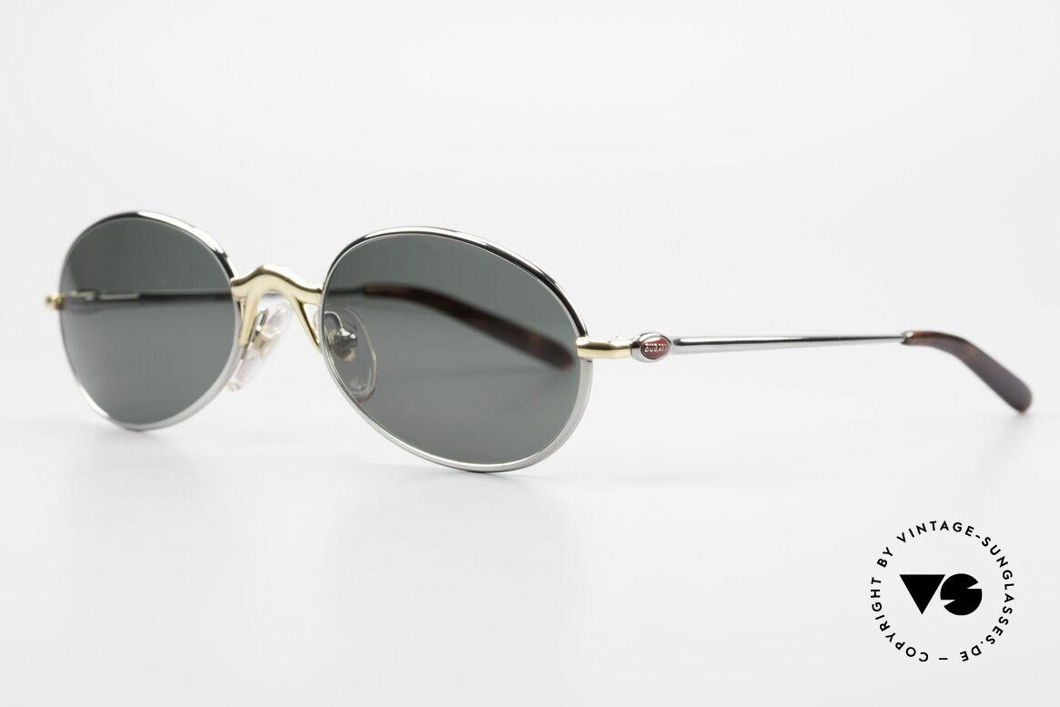 Bugatti 22126 Original 90er Sonnenbrille, beste Materialien in erstklassiger Verarbeitung, Passend für Herren