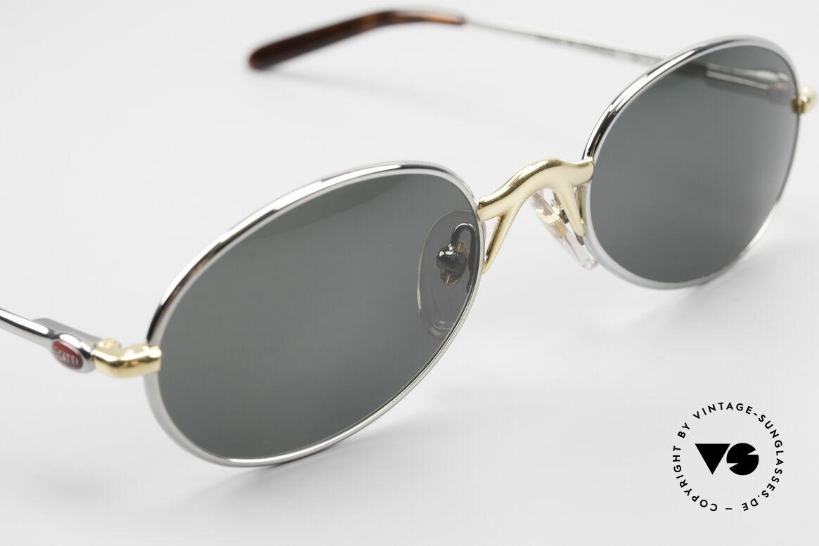 Bugatti 22126 Original 90er Sonnenbrille, ungetragen; wie all unsere Herrensonnenbrillen, Passend für Herren