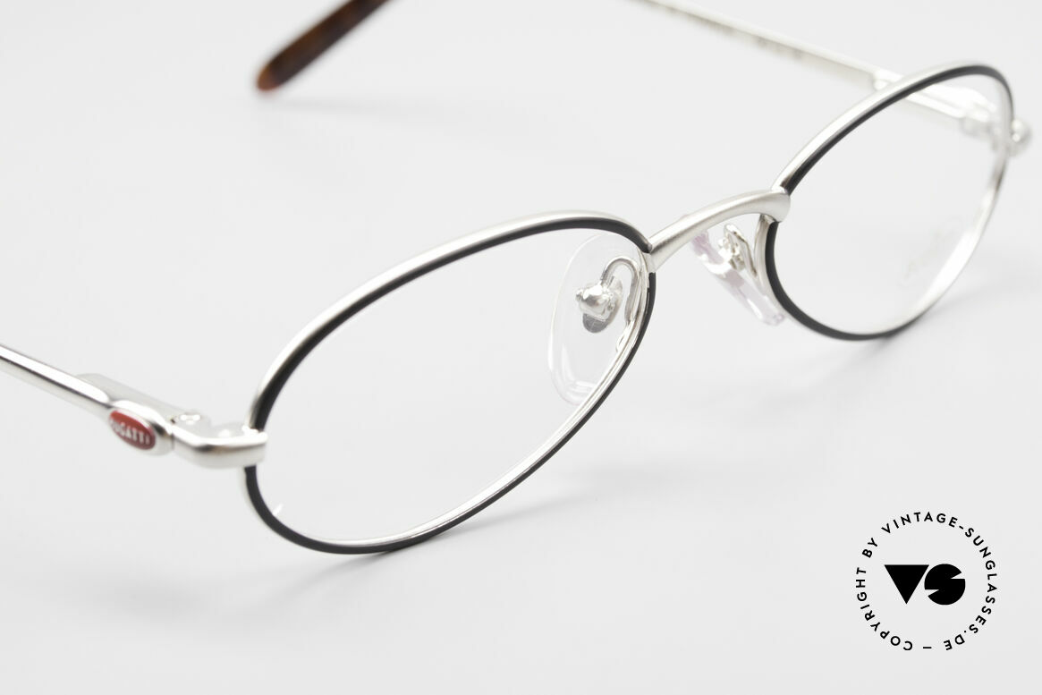 Bugatti 22431 Kleine 90er Vintage Brille, ungetragen (wie alle unsere Bugatti Fassungen), Passend für Herren und Damen