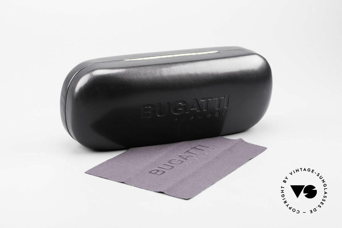 Bugatti 22431 Kleine 90er Vintage Brille, 125mm Breite = eher für kleinere Köpfe passend, Passend für Herren und Damen