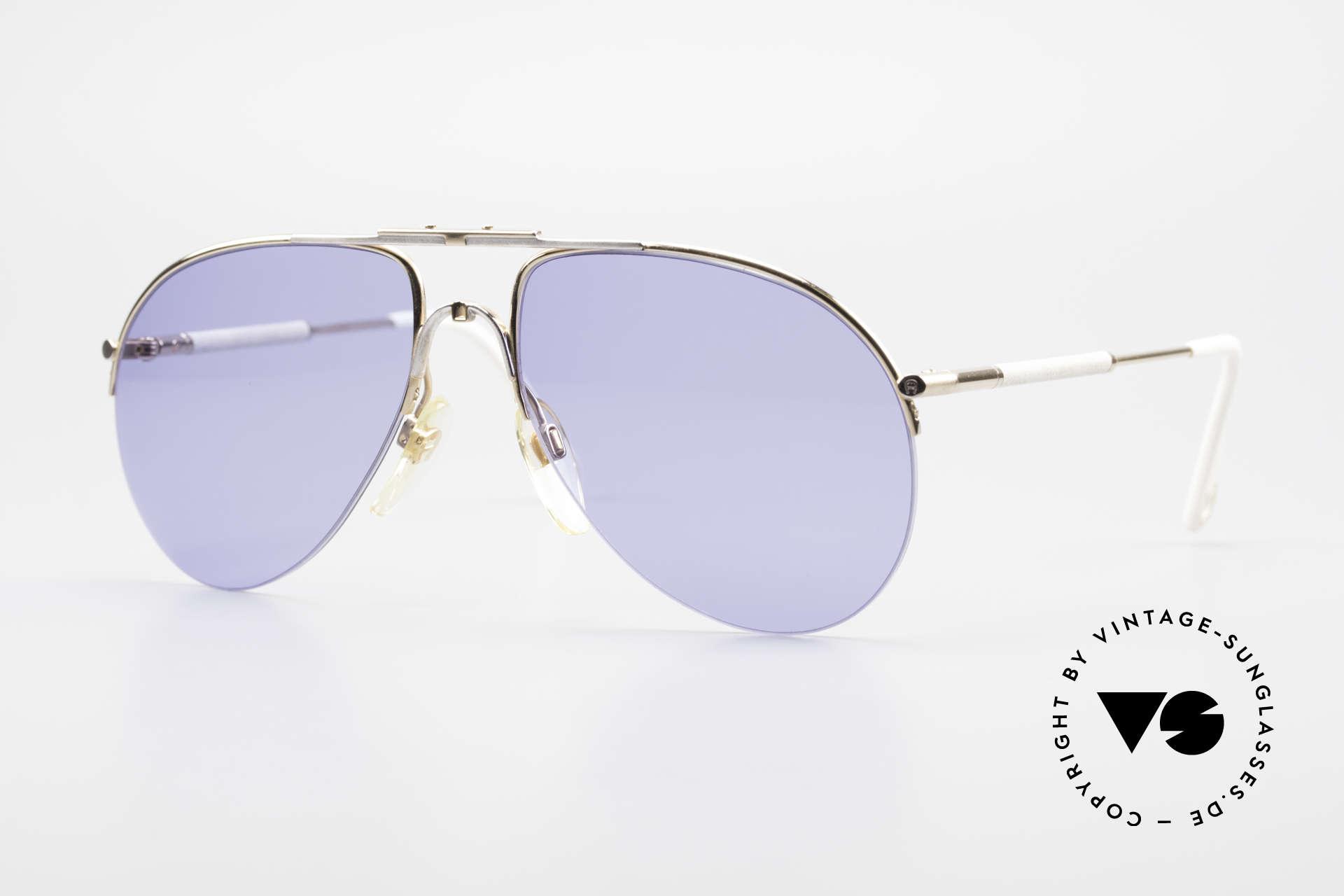 Aigner EA2 Echt 80er Vintage Sonnenbrille, Etienne Aigner 80er VINTAGE Designer-Sonnenbrille, Passend für Herren und Damen
