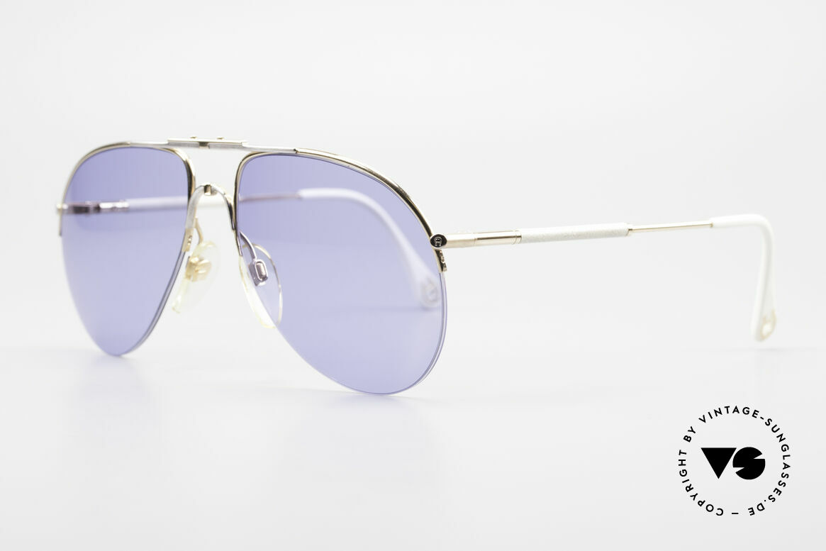 Aigner EA2 Echt 80er Vintage Sonnenbrille, in absoluter TOP-Qualität & mit Seriennummer 9137, Passend für Herren und Damen