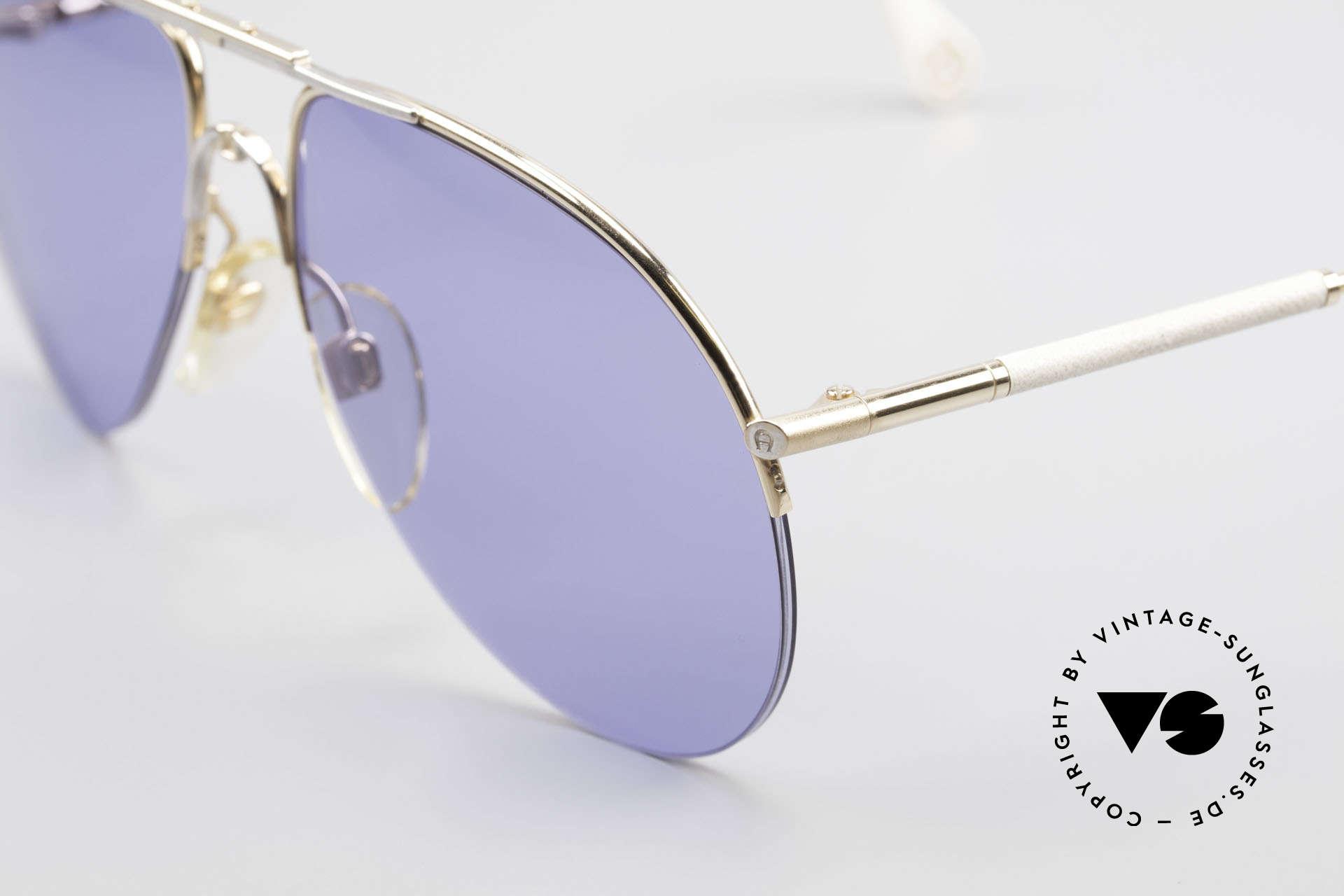 """Aigner EA2 Echt 80er Vintage Sonnenbrille, ein echtes """"Must-Have"""" für alle """"vintage Liebhaber""""!, Passend für Herren und Damen"""