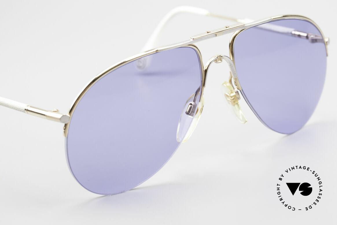 Aigner EA2 Echt 80er Vintage Sonnenbrille, ungetragen (wie alle unsere seltenen Aigner Brillen), Passend für Herren und Damen