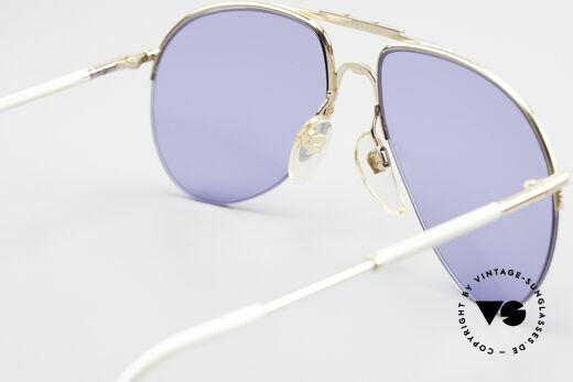 Aigner EA2 Echt 80er Vintage Sonnenbrille, KEIN RETRO; EA2 = das halb-rahmenlose 80er Modell, Passend für Herren und Damen