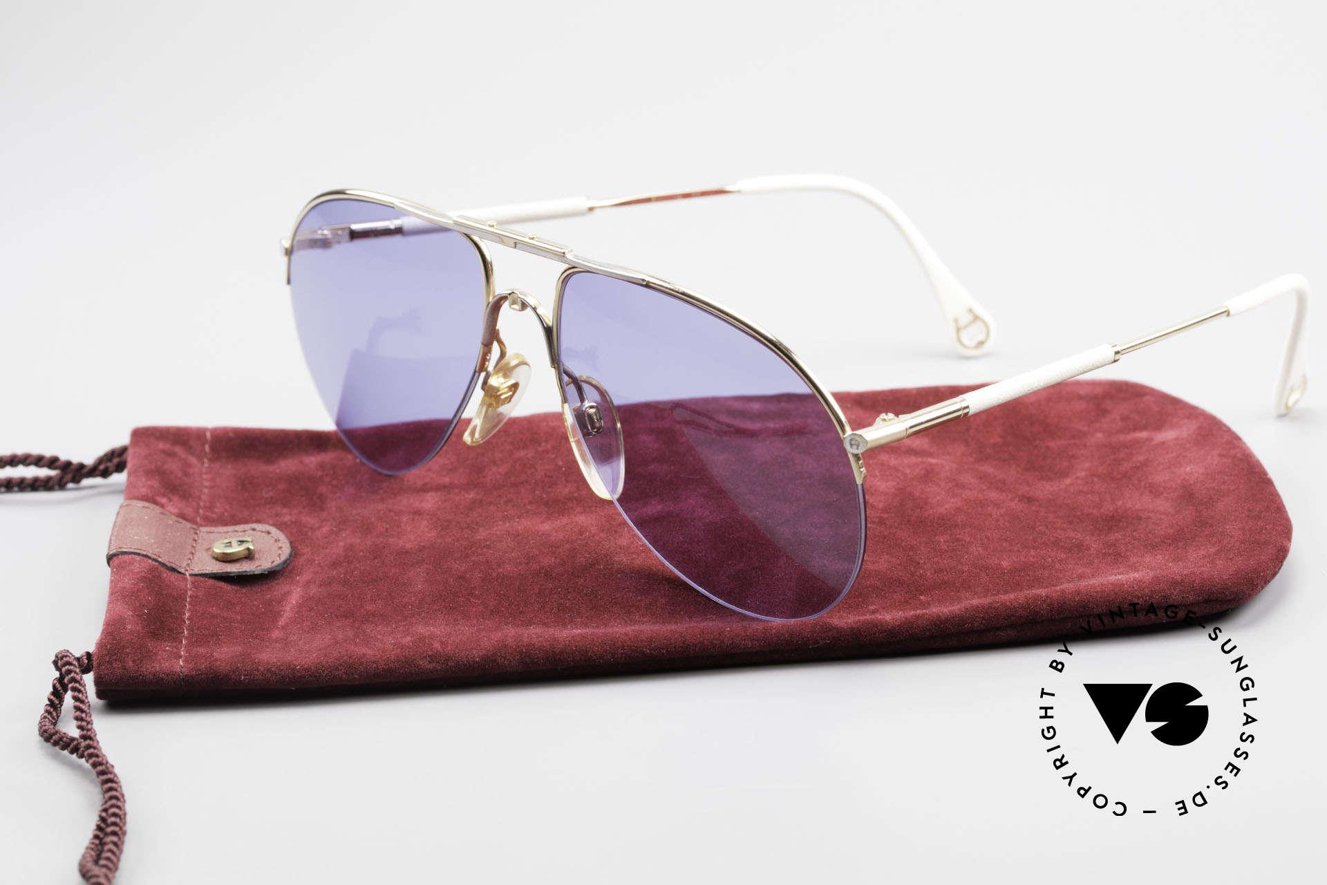 Aigner EA2 Echt 80er Vintage Sonnenbrille, Größe: small, Passend für Herren und Damen