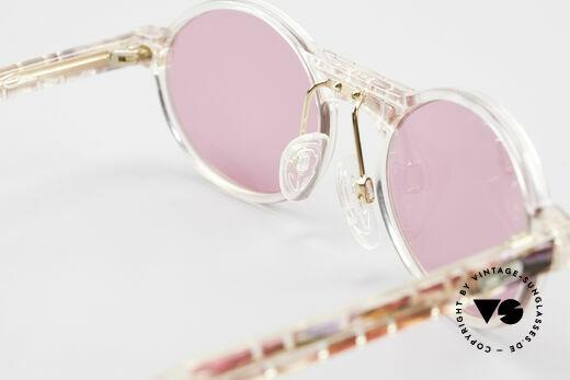 Cazal 510 Rosarote Vintage Brille Oval, ungetragen (wie alle unsere vintage CAZAL Brillen), Passend für Damen