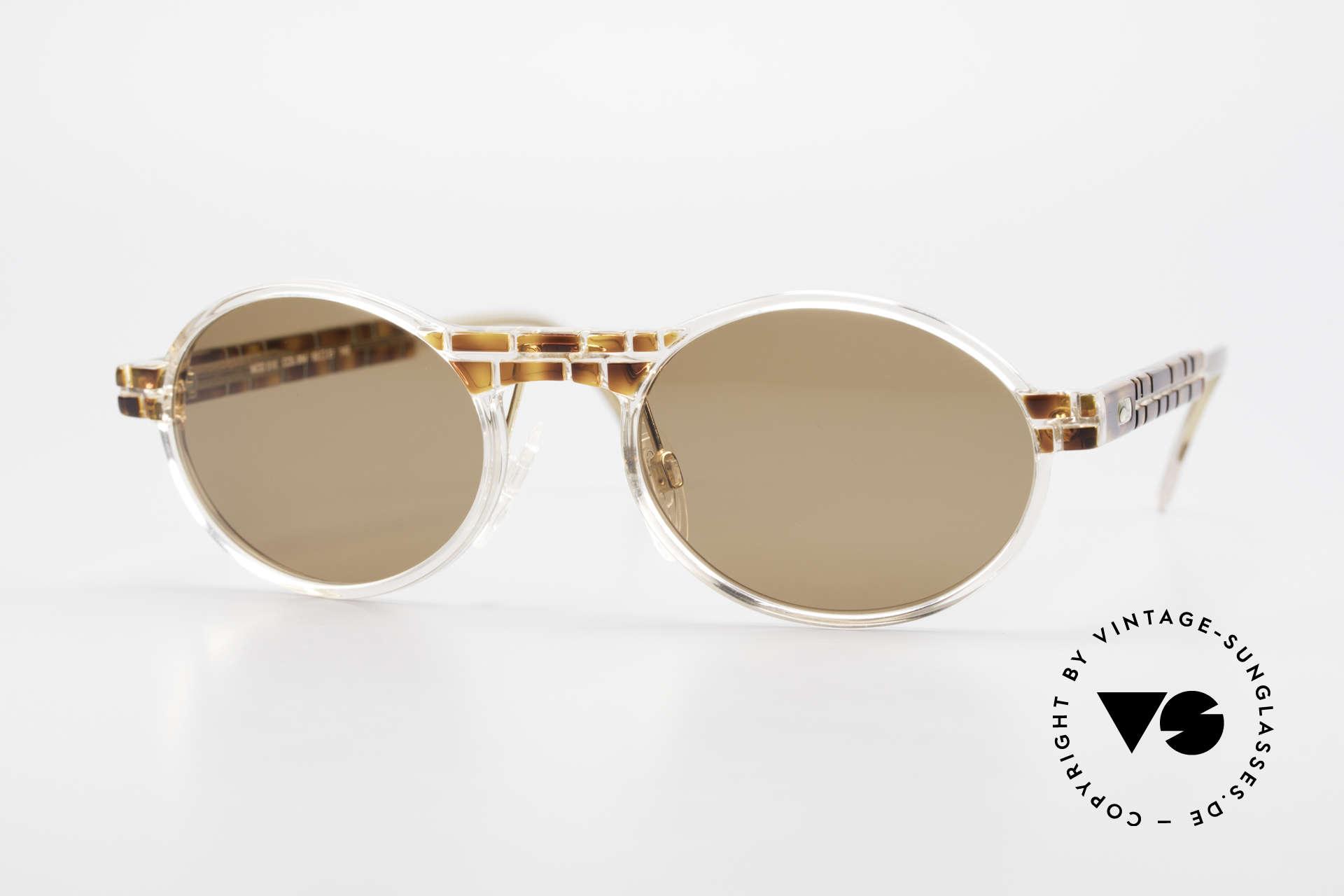 Cazal 510 Limitierte Ovale Vintage Cazal, seltene vintage Brille der Cazal Crystal 500er Serie, Passend für Herren und Damen