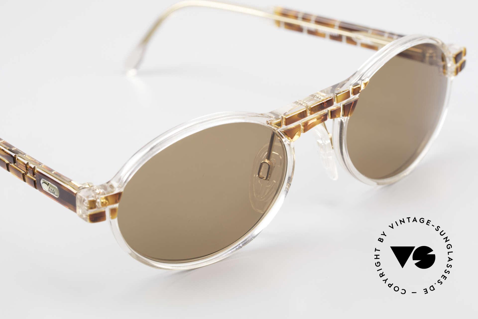 Cazal 510 Limitierte Ovale Vintage Cazal, ungetragen (wie alle unsere vintage CAZAL Brillen), Passend für Herren und Damen
