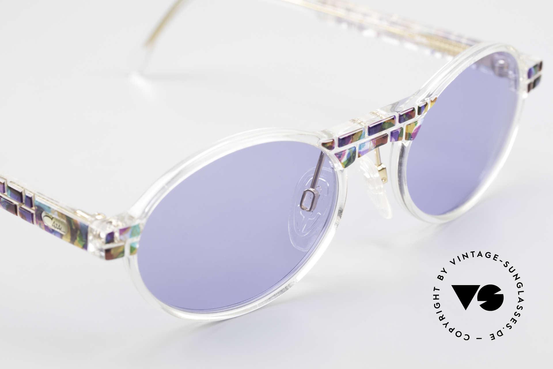 Cazal 510 Ovale Vintage Cazal Limited, ungetragen (wie alle unsere vintage CAZAL Brillen), Passend für Herren und Damen
