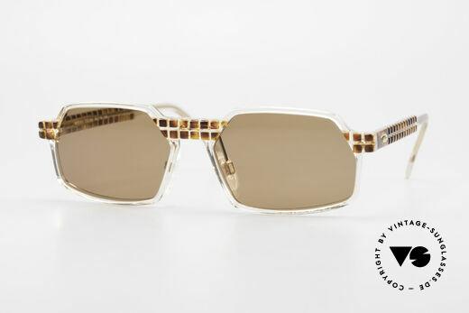 Cazal 511 Limited 90er Sonnenbrille Oval Details