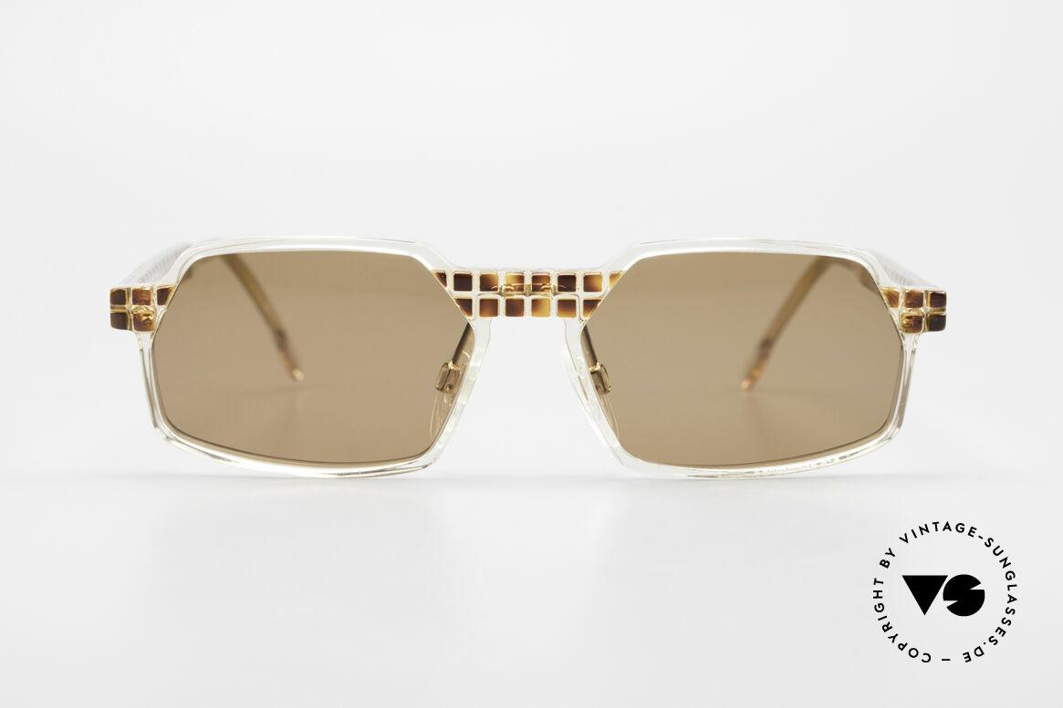 Cazal 511 Limited 90er Sonnenbrille Oval, Mitte der 90er Jahre nur als Kleinstserie produziert, Passend für Herren und Damen