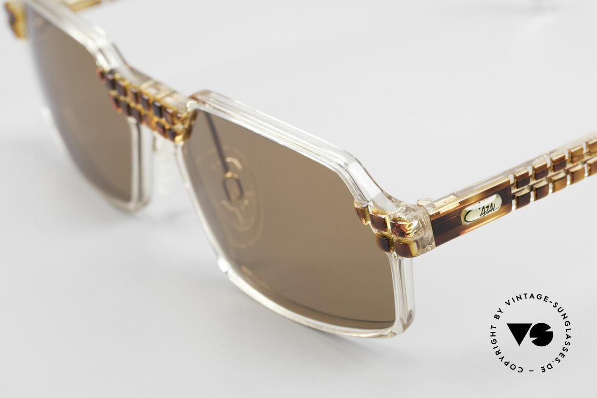 Cazal 511 Limited 90er Sonnenbrille Oval, tolle Kombination aus Form, Farbe und Materialien, Passend für Herren und Damen