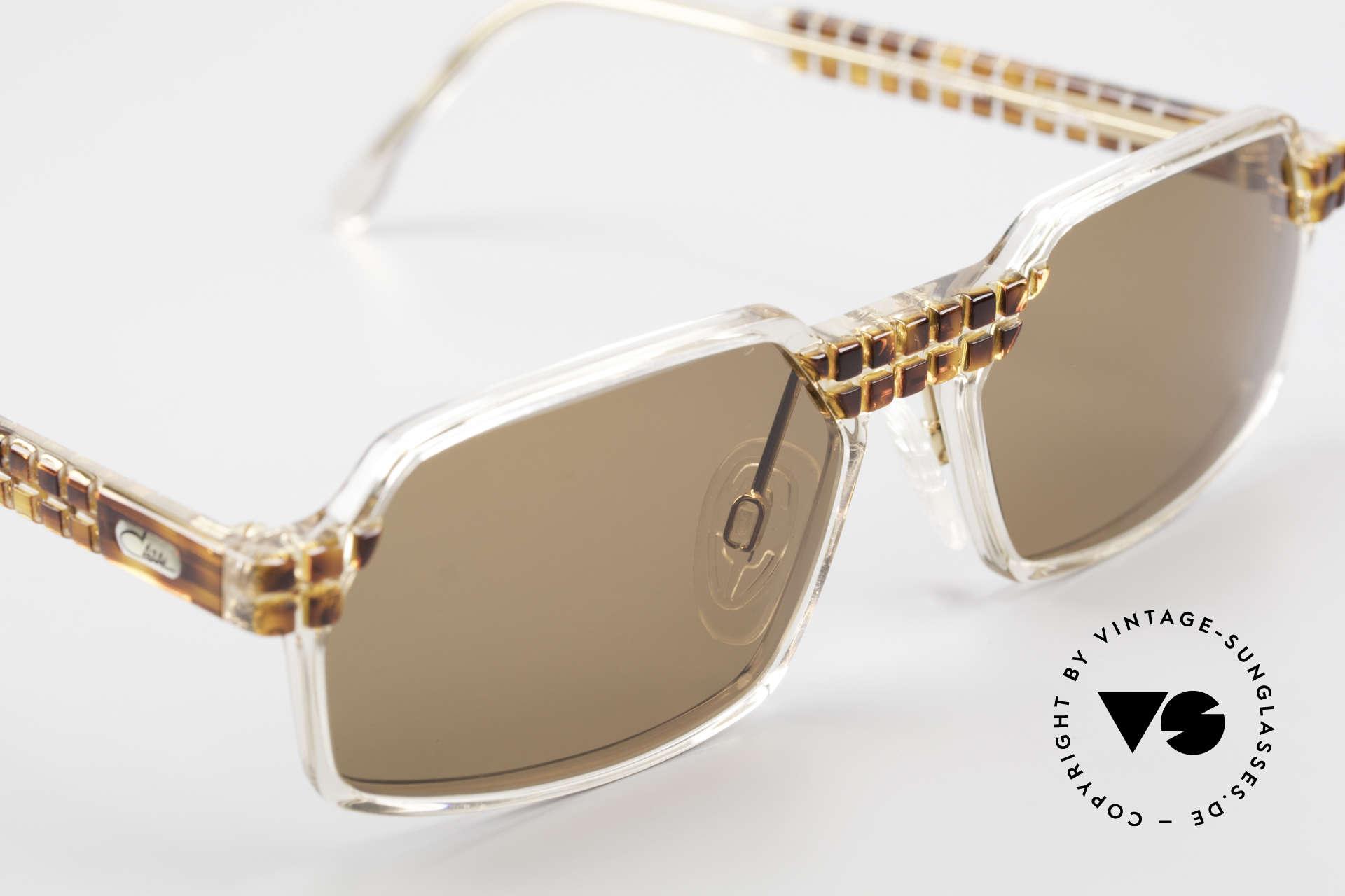 Cazal 511 Limited 90er Sonnenbrille Oval, ungetragen (wie alle unsere vintage CAZAL Brillen), Passend für Herren und Damen