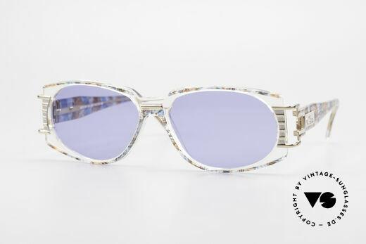 Cazal 372 Seltene HipHop Sonnenbrille Details