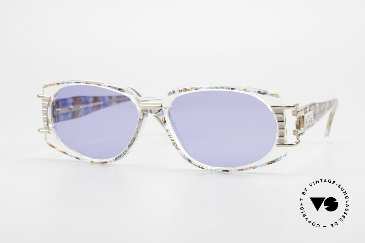 Cazal 372 Seltene HipHop Sonnenbrille, ultra seltenes CAZAL vintage Modell aus den 90er Jahren, Passend für Herren und Damen