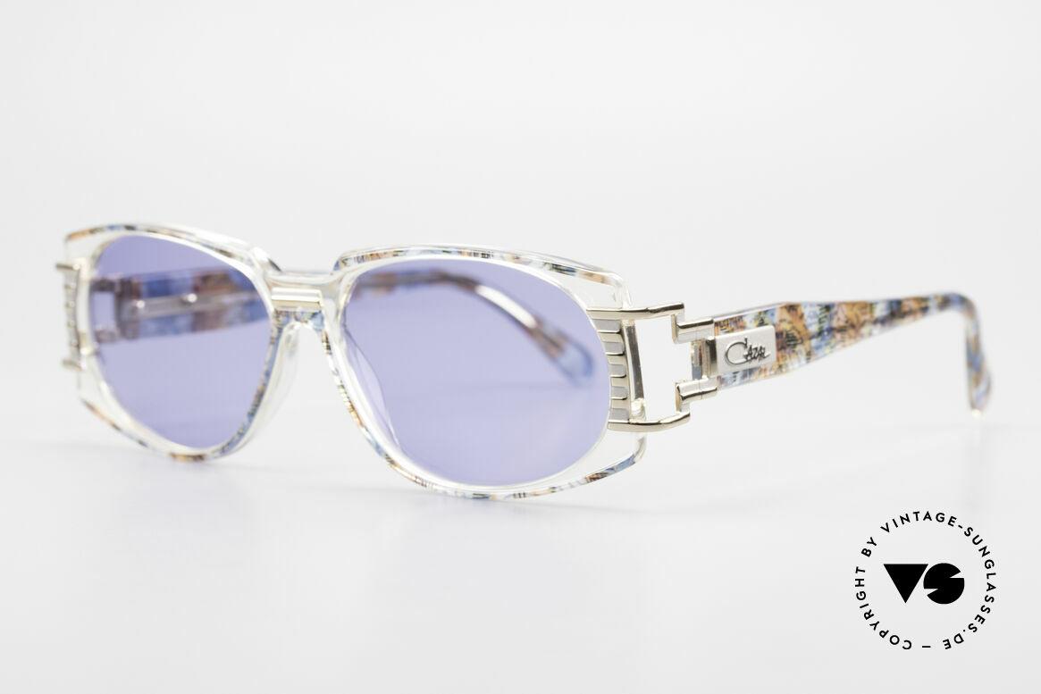 Cazal 372 Seltene HipHop Sonnenbrille, interessant, ausdrucksstark und ein 'Hingucker' zugleich, Passend für Herren und Damen
