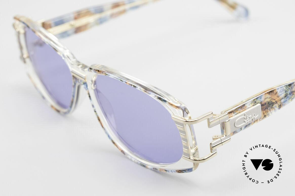 Cazal 372 Seltene HipHop Sonnenbrille, wahre Designer-Brille vom großen CAri ZALloni (CAZAL), Passend für Herren und Damen
