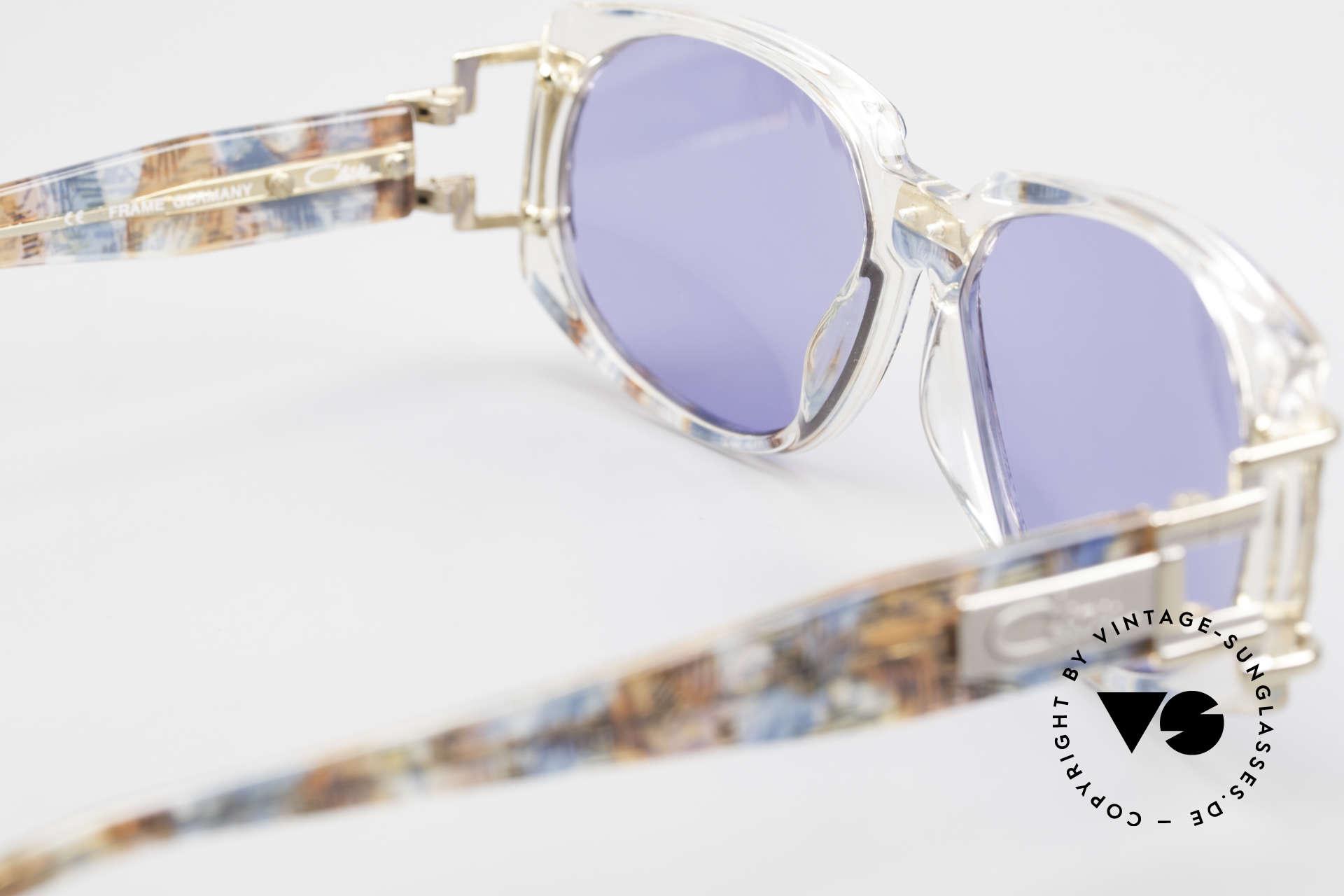 Cazal 372 Seltene HipHop Sonnenbrille, KEINE RETRO Brille, sondern ein 20 Jahre altes ORIGINAL, Passend für Herren und Damen