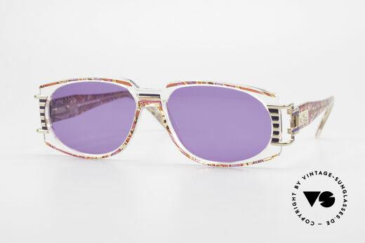 Cazal 372 Rare 90er HipHop Sonnenbrille Details